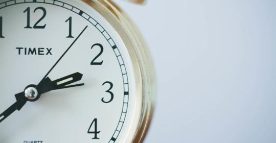 Spring forward, sleep less: Daylight saving time study